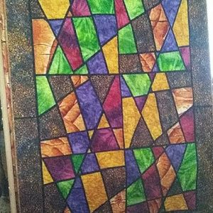 Other - Stained Glass Throw Quilt #2